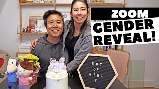 Our Zoom Gender Reveal! Will Floobie be a boy or girl?