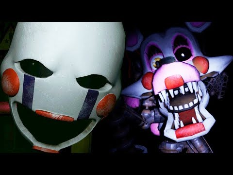 THE PUPPET REACTS TO: New FNAF VR: Help Wanted Gameplay Footage and Images!!!