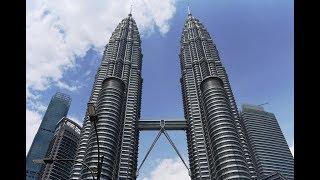 TOP 10 FACTS ABOUT THE PETRONAS TWIN TOWERS - Kuala Lumpar MALAYSIA