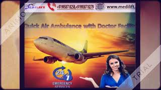 Hire Superior Air Ambulance Service in Kanpur with Doctor