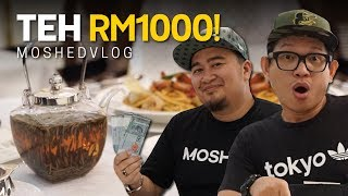 Moshed Belanja Pyan Padu Beb Minum Teh RM1000 | Moshed Vlog 024