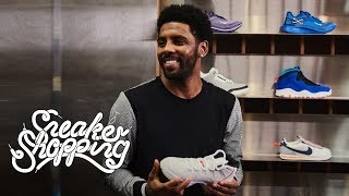 Kyrie Irving Goes Sneaker Shopping With Complex