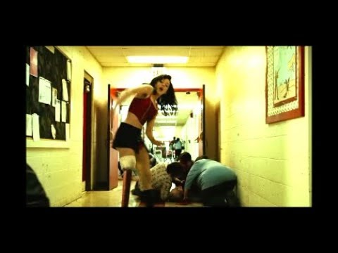 Ray Saves The One Legged Dancing Stripper - Escaping The Babysitter Twins - Scene From Planet Terror