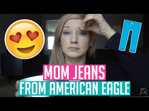 👖 MOM JEANS 👖 from American Eagle
