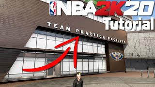 How to Use the Team Practice Facility :: NBA 2K20 Tutorial