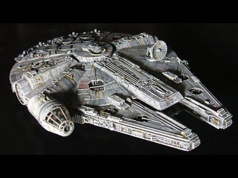 Fine Molds Millennium Falcon 1/144 Model Kit - смотреть