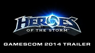 Heroes of The Storm Feature Trailer - Gamescom 2014