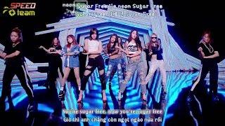 [Vietsub + Engsub + Kara] T-Ara (티아라) - Sugar Free