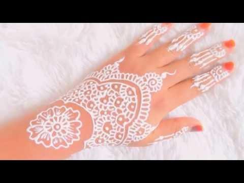Simple White Henna Belajar Henna Untuk Pemula 4 Wapgex