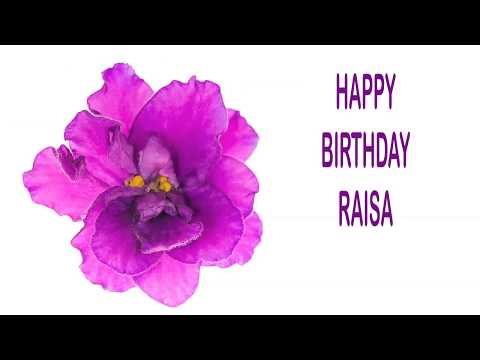 Raisa   Flowers & Flores   Happy Birthday