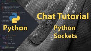 Tutorial en el cual explico como crear un chat mediante python y socktes, se explica como evitar el bloqueo que traen por defectos los socktes en este lengua...