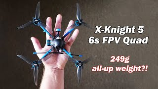 "The lightest 6s 5"" FPV quad in the world? - X-Knight 5 by BetaFPV фото"