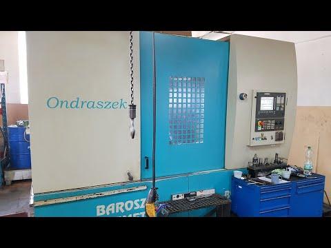 CNC centro de usinagem vertical BAROSZ GWIMET ONDRASZEK BCZ 1200 2007
