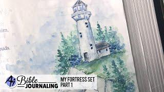 Ai Bible Journaling - My Fortress Set Part 1