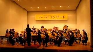 jr high school band plays arashi medley