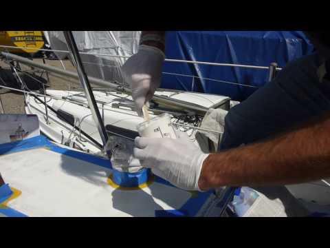 Yachtcare Anti-Slip-Coat an Deck - Schritt für Schritt zur günstigen Anti-Rutsch Beschichtung
