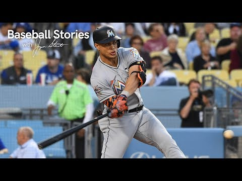 Giancarlo Stanton Describes Hitting Home Run Out of Dodger Stadium | Baseball Stories