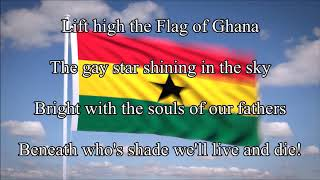 (Rare) National anthem of Ghana (1960-1966, before the coup)
