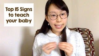 Top 15 Signs to Teach Your Baby & Why It's Important