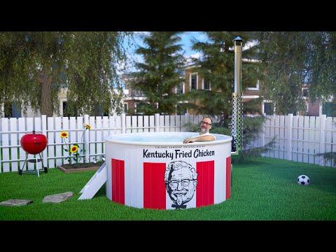 KFC Innovations Lab | Kentucky Fried Hot Tub