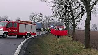 Film do artykułu: Śmiertelny wypadek na DK15...