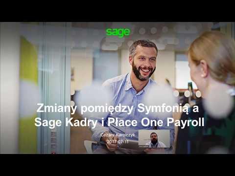 Co zyskasz przechodząc z Symfonii na Sage Kadry i Płace One Payroll<
