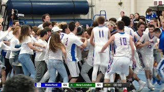 Highlights: Waterford 65, New London 61 in ECC Semifinal