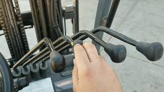 Scatter brain Saturday. .Learning how to drive a forklift.