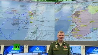 Russian MoD briefing on downed Il-20 in Syria (streamed live)