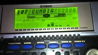 Yamaha Psr 540-como Hacer Acompañamiento Cumbia,parte 1