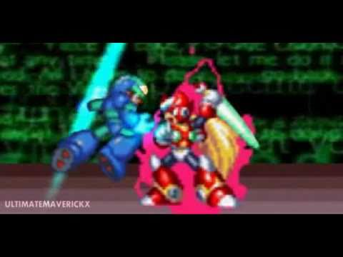 Nếu bạn là fan Rockman thì xem cả trăm lần cũng không chán ( trận chiến sinh tử X vs Z)