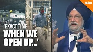 Covid: When will India restart international flights? Union minister answers