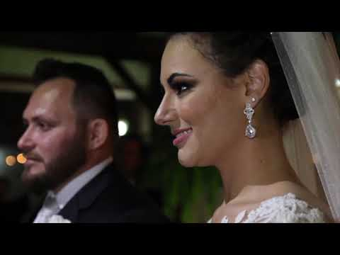 Celebrante Dalceno no casamento de Hellen e Daniel