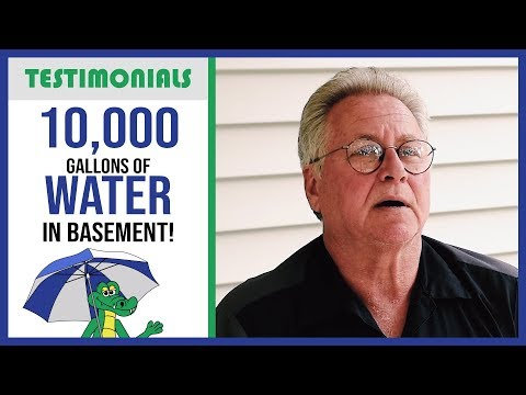 🐊 House Fire! - Waterproofing System Survives - Dry Guys Testimonial