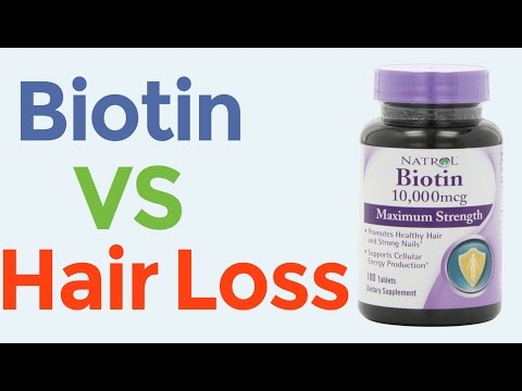 Video Biotin For Faster Hair Growth And Hair Loss Prevention