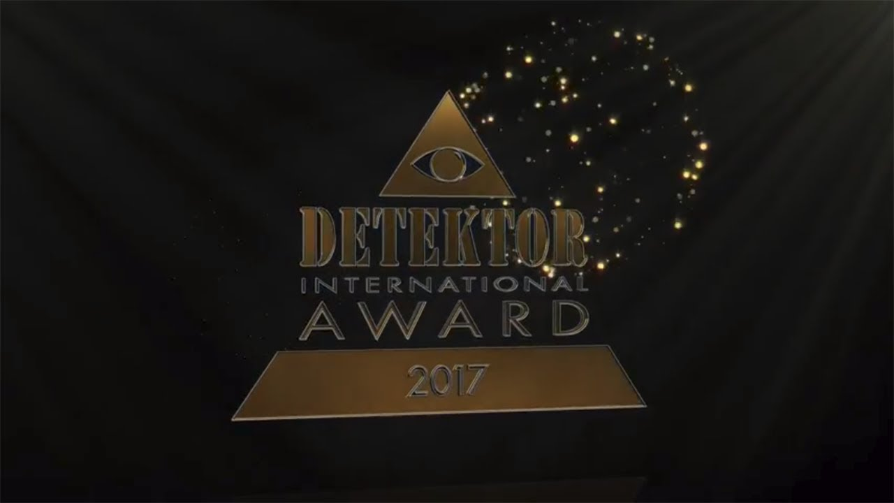 The presentation of the Detektor International Award 2017
