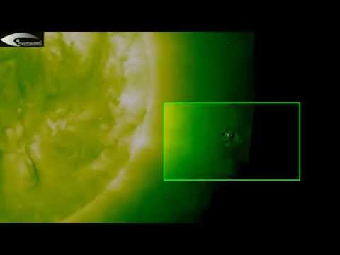 Anomalies and UFOs holograms in solar space – June 4, 2013