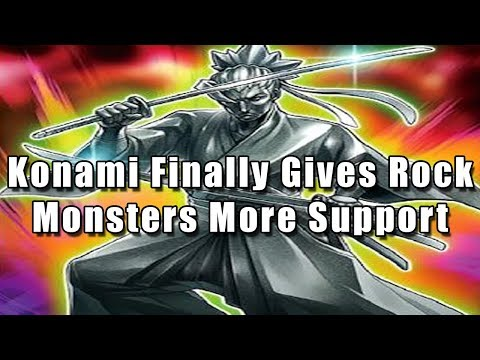 Konami Finally Gives Rock Monsters More Support