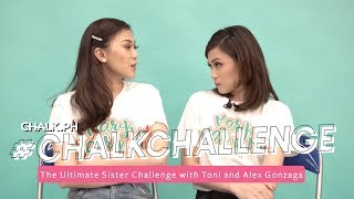 #ChalkChallenge: The Ultimate Sister Challenge With Toni And Alex Gonzaga