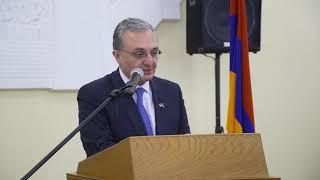 ԱԳ նախարար Զոհրաբ Մնացականյանի ելույթը Հաղթանակի օրվա կապակցությամբ Հայաստանում ՌԴ դեսպանությանը կազմակերպված ընդունելությանը