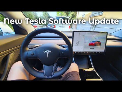 New Tesla Model 3 Software UPDATE 2020 28 1