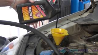 Power Steering Fluid Change Kia Sportage