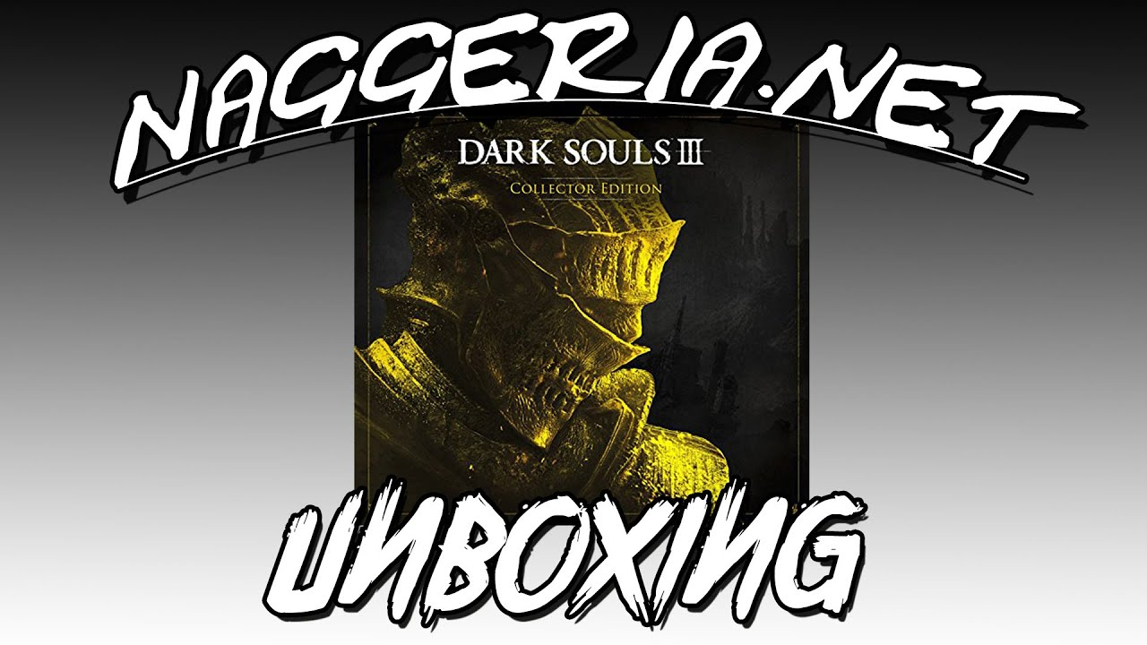 [Unboxing] Dark Souls 3 – Collector Edition (Deutsch / PS4)