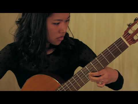 Etude No. 19 by Matteo Carcassi, performed by Kaye Cariola (2014)