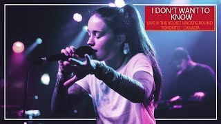 Sigrid - I Don't Want To Know (Ao vivo no The Velvet Underground - Toronto/Canadá)