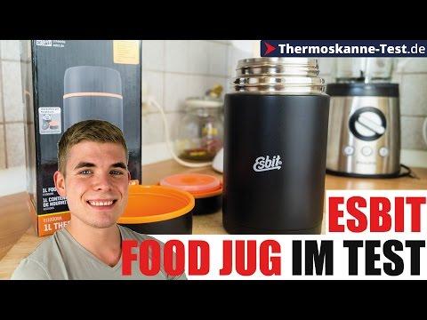 Esbit Isolier Foodbehälter Test - Thermobehälter für Essen!