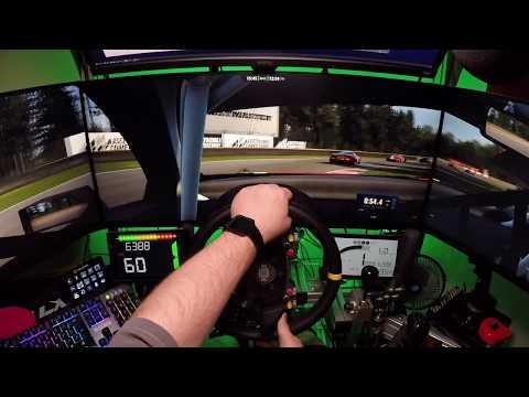 Assetto Corsa Competizione - 1.1Triple screen test