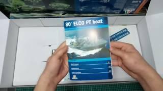 """Торпедный катер ELCO 80 """"PT - 596 TORPEDO BOAT. Сборная модель. 1/35 ITALERI 5602 от компании Хоббинет. Сборные модели. - видео"""
