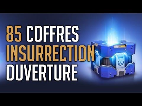 [OVERWATCH] OUVERTURE 85 COFFRES DE L'INSURRECTION | On veut des skins !