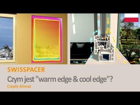 """SWISSPACER - Czym jest """"warm edge & cool edge""""? (Ciepły klimat)"""
